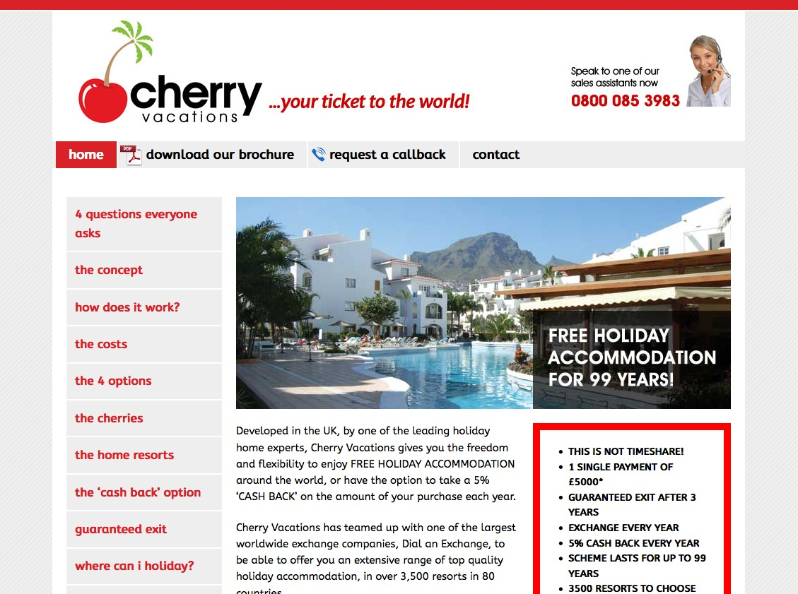 cherry-vacations.com
