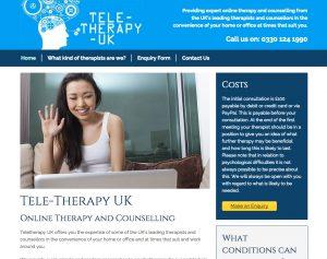 Tele-therapy UK