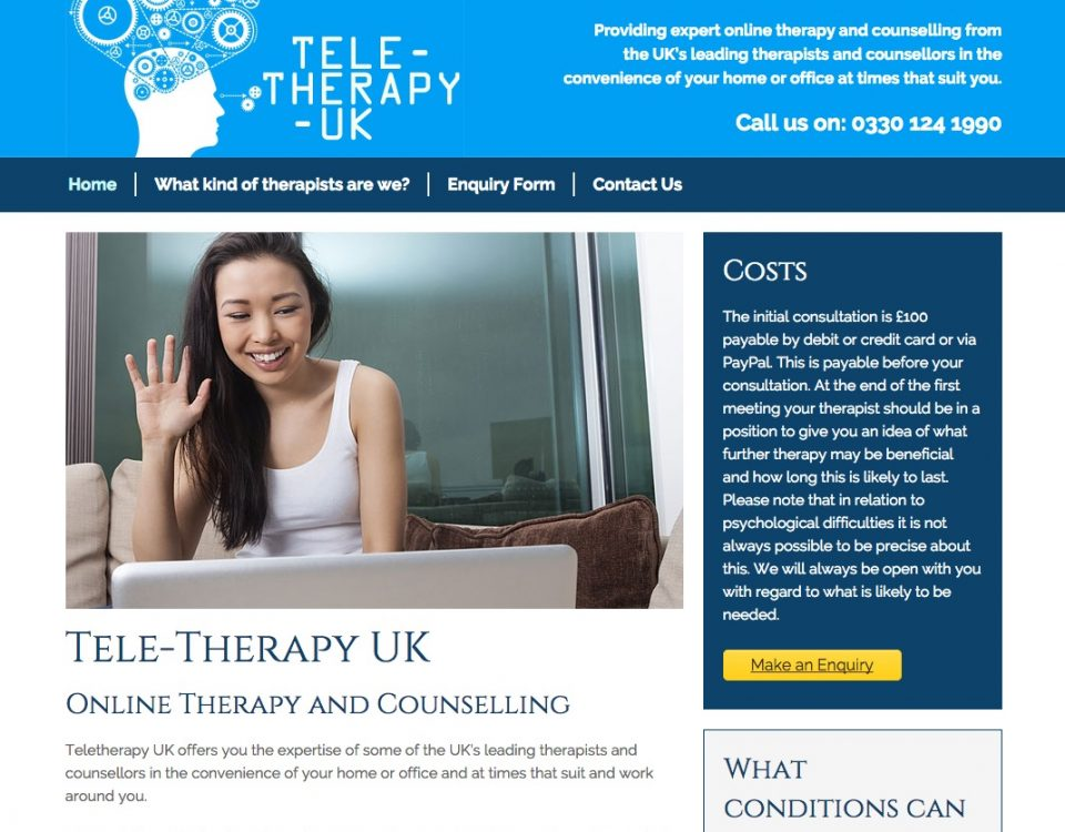 Tele-therapy UK