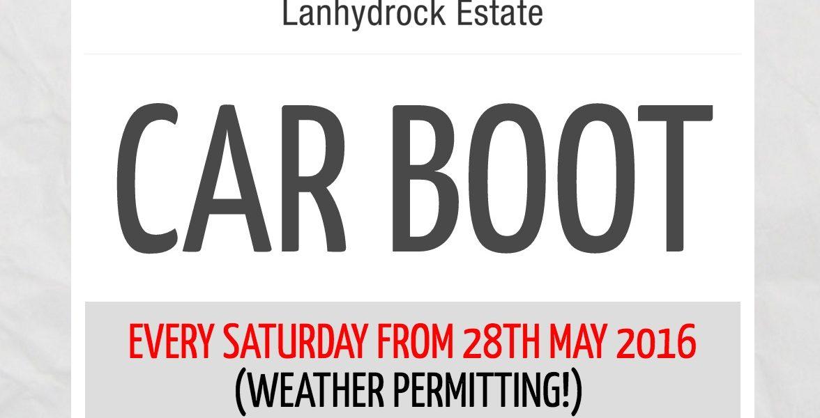 Lanhydrock Car Boot Sales