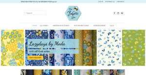 The Fabric Bee Quilting fabric dressmaking fabric and haberdashery